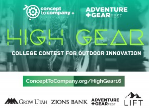 High Gear:  College Contest for Outdoor Innovation
