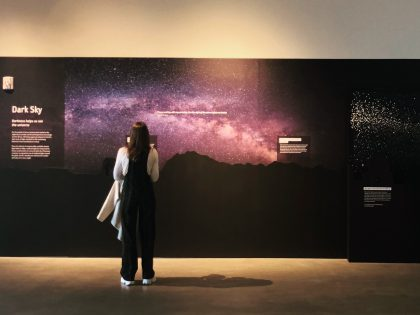 Dark Sky Exhibit opens at NHMU