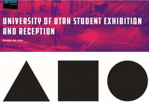 Design Week is here:  Design Foundations Student Exhibition & Reception